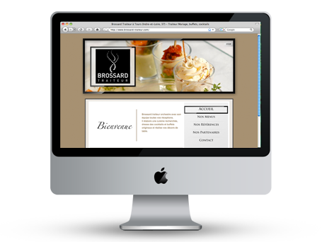Site Internet pour Brossard Traiteur Preview