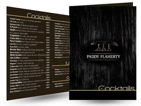 Cartes pour le Paddy Flaherty Preview