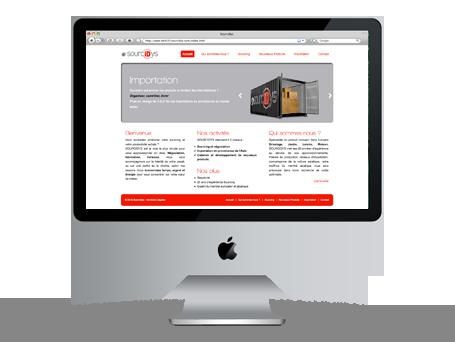 Site Internet pour Sourcidys Image